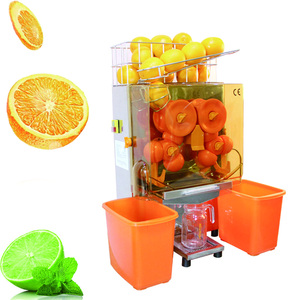 Auto Feed 20 Oranges per Minute Commercial Juicer Machine