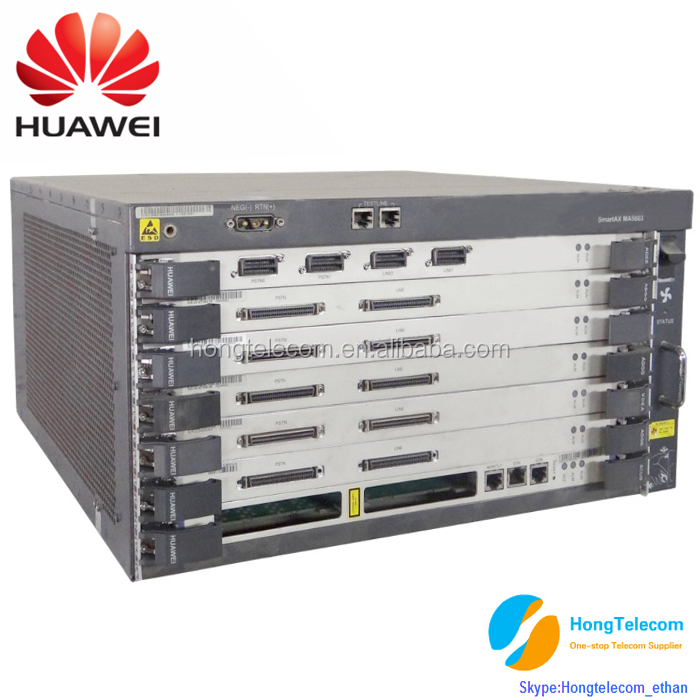 FTTx usage Huawei MA5603 GPON EPON optical access OLT equipment