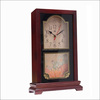 standing classic wooden antique table clocks