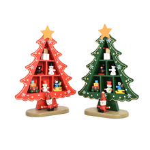 FQ brand Factory Manufacturer mini table hot Creative wood giftwholesale wooden christmas diy toy