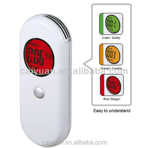 Color lights indicate blood alcohol content Tester mile high