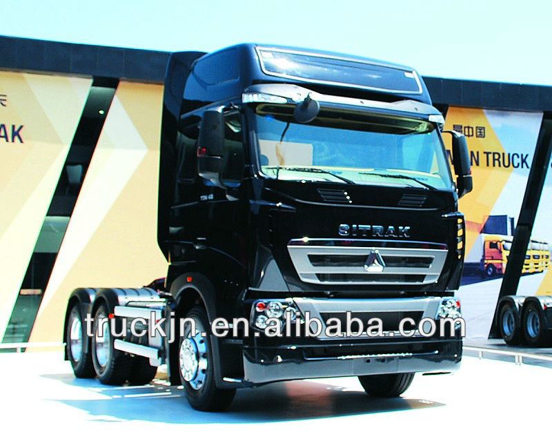 High quality HOWO T7H Heavy-duty tractor truck/semi-trailer towing truck 6*4