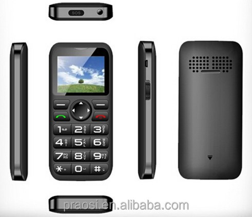 Best elder easy use mobile phone with torch
