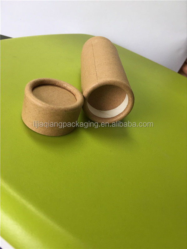 Food grade push up paper tube packaging for lip stick, lip balm