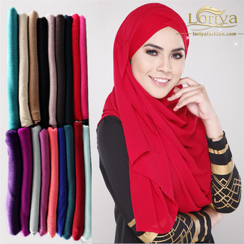 Dubai hijab hot selling islamic ladies scarf fashionable muslim shawl