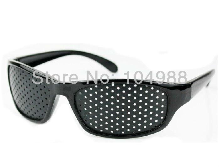 4550e80436 2013 Cheap Black Unisex Vision Care Pinhole Eyeglasses pinhole Glasses Eye  Exercise Eyesight .