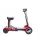 4 wheel lithium kids electric scooter folding mini electric mobility scooter