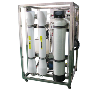 Salt water treatment plant machinery system