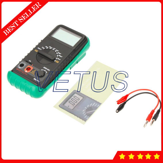MS6013 Portable Digital Cheap Capacitance Meter with high precision tester range 200PF~20MF