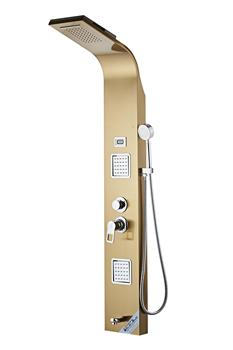 Hot Sale Fashion Classic Stainless Steel Electronic Shower Control Panel