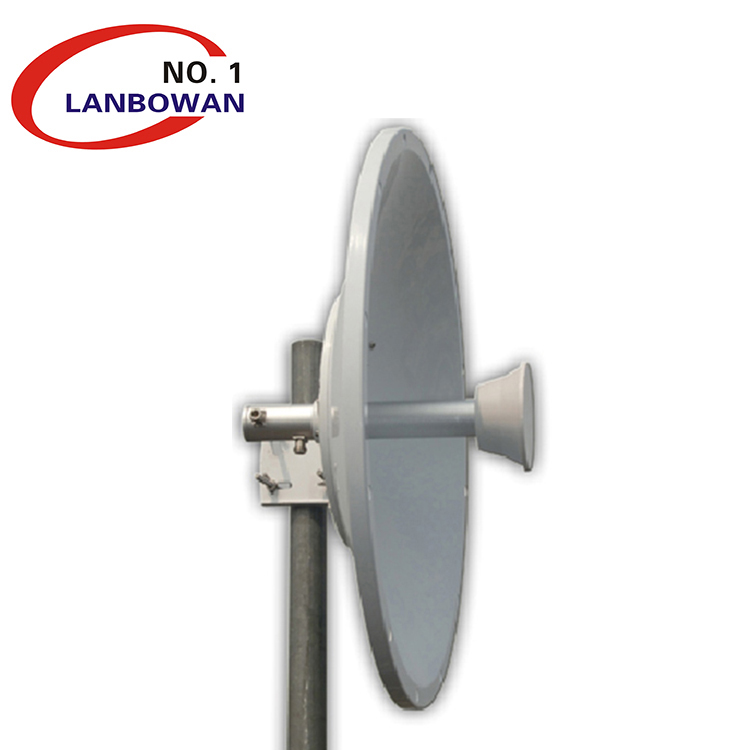 Factory price high gain high power WLAN 5GHz 30dBi outdoor wireless Dish Antenna ,use with ubiquiti rocket m5