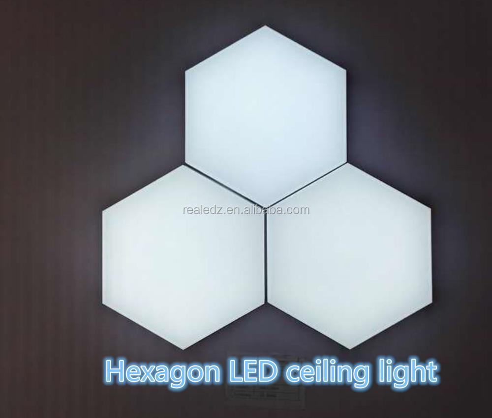 led panel led hexagon ceiling panel light for puzzle buy led