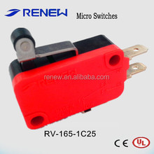 RV-165-1C25 Roller lever type burgess micro switch