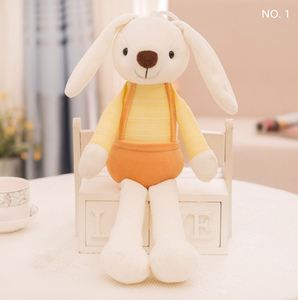 Factory price easter rabbit doll plush bunny toy with long ears