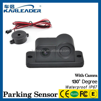 5579c34653f Parking Assist System Car Reverse Parking Sensor kit 8 Sensors Front Rear  Alarm