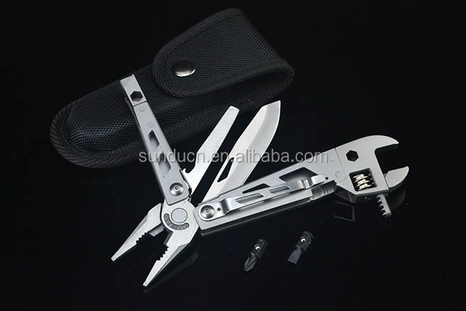 Stainless Steel Outdoor Multitool Knife Pliers Pocket Multi Tool