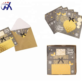 wholesale custom blank christmas greeting cards and envelopes - Custom Greeting Cards