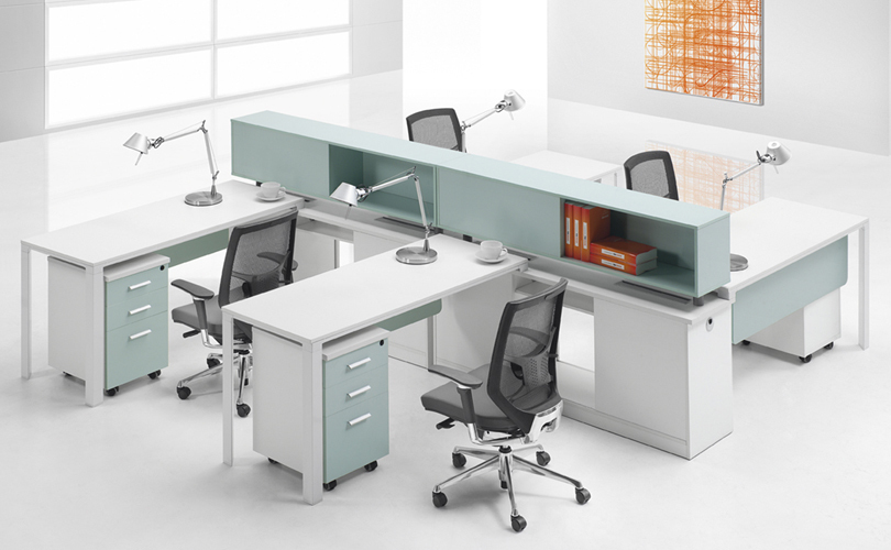 Cf Modern Office Furniture Standard Sizes Workstation Tt Aluminum Frame Of Staff Desk