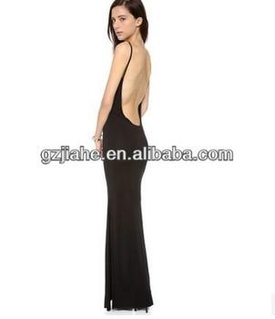 5dc84638122 2014 Новые классические пикантные длинные разрезы глубокий Strappy  поддержке Модальные длинное платье