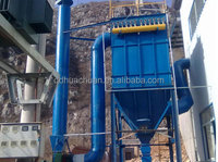 120 bags pulse control dust collector dust removal system