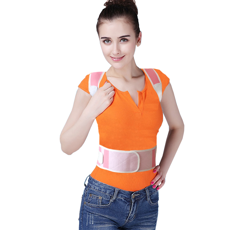 Adjustable Magnetic Posture Support Correction Body back shoulder corrector Pain Lumbar Belt Shoulder Brace Shoulder support