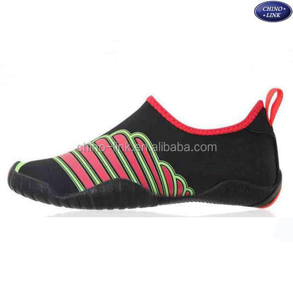 44dc763a0 Quick-drying rubber sole Swimming Skin barefoot aqua water shoes men Beach  shoe