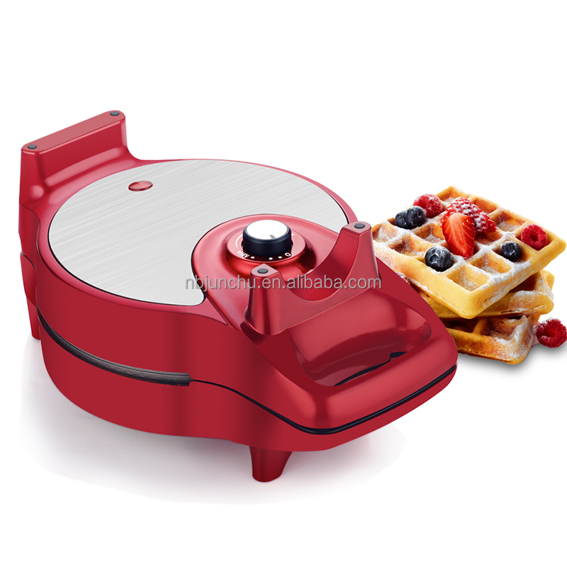 9 in 1 Staccabile Rotante di Controllo della Temperatura Waffle Maker