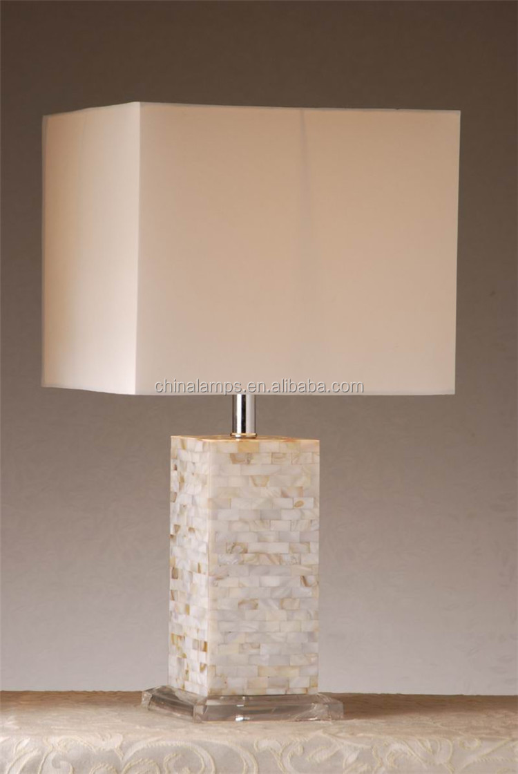 China Factory Manufacturer Sea Shell Style Table Lamp Promotion ...