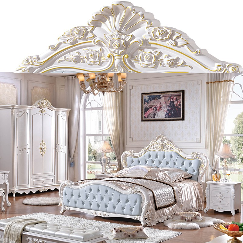 Best Selling Latest Design Double Bed Set Euro Style Bedroom ...
