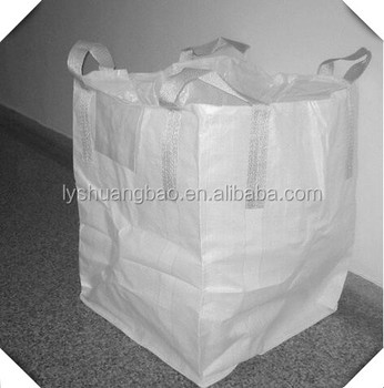 1 Ton Fibc Jumbo Bulk Container Pp Bag Manufacture For Building Material Rice