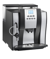 Luxury black fully automatic coffee machine price