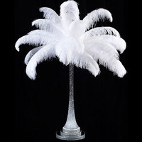 Manufacturer supplier ostrich feathers table centerpieces for wedding decoration