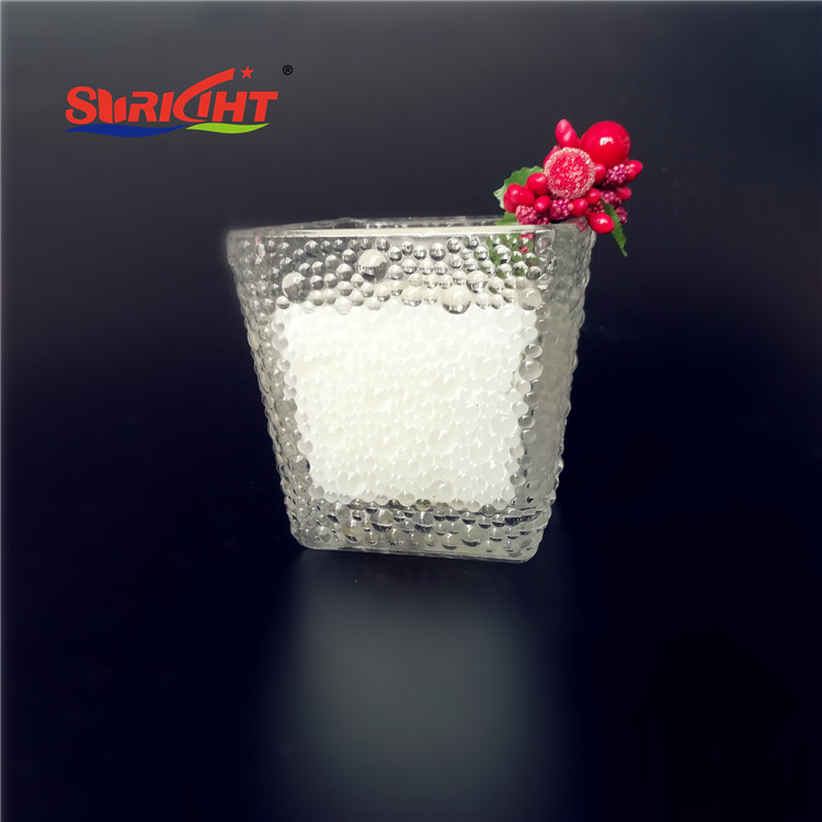 Luxury Crackled Glass Jar Custom Nature Fragrance Candles