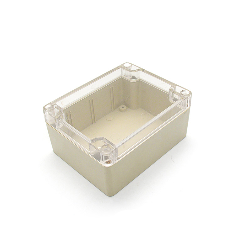 Small plastic waterproof box with clear lid