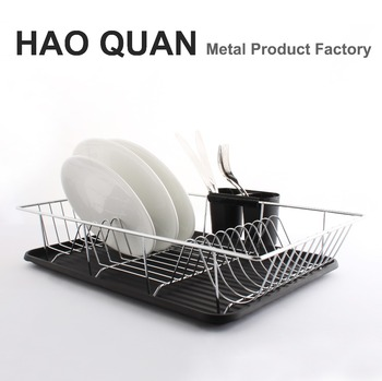 Large Chrome Plated Wire Dish Rack Plate Cup Rack Drying Stand Drainer  sc 1 st  Alibaba & Large Chrome Plated Wire Dish Rack Plate Cup Rack Drying Stand ...