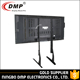 Simple Appearance Height Adjustable Outdoor Tv Mount Floor Stand