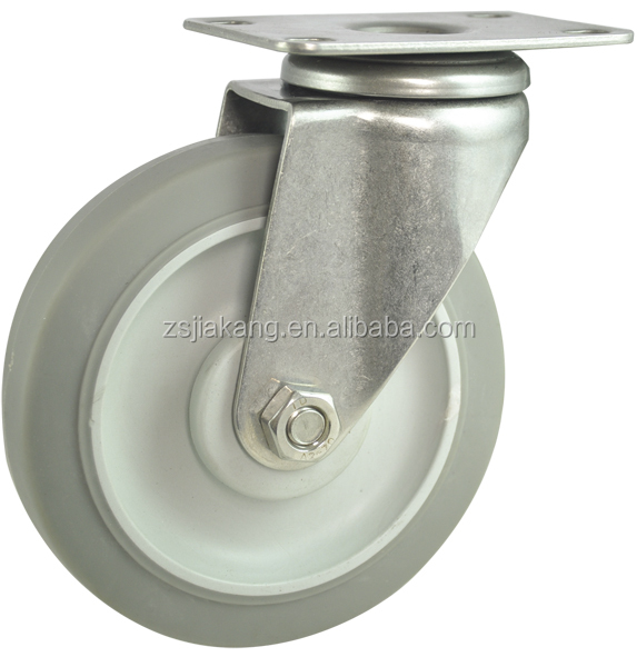 TPR oil /water resistant caster wheel
