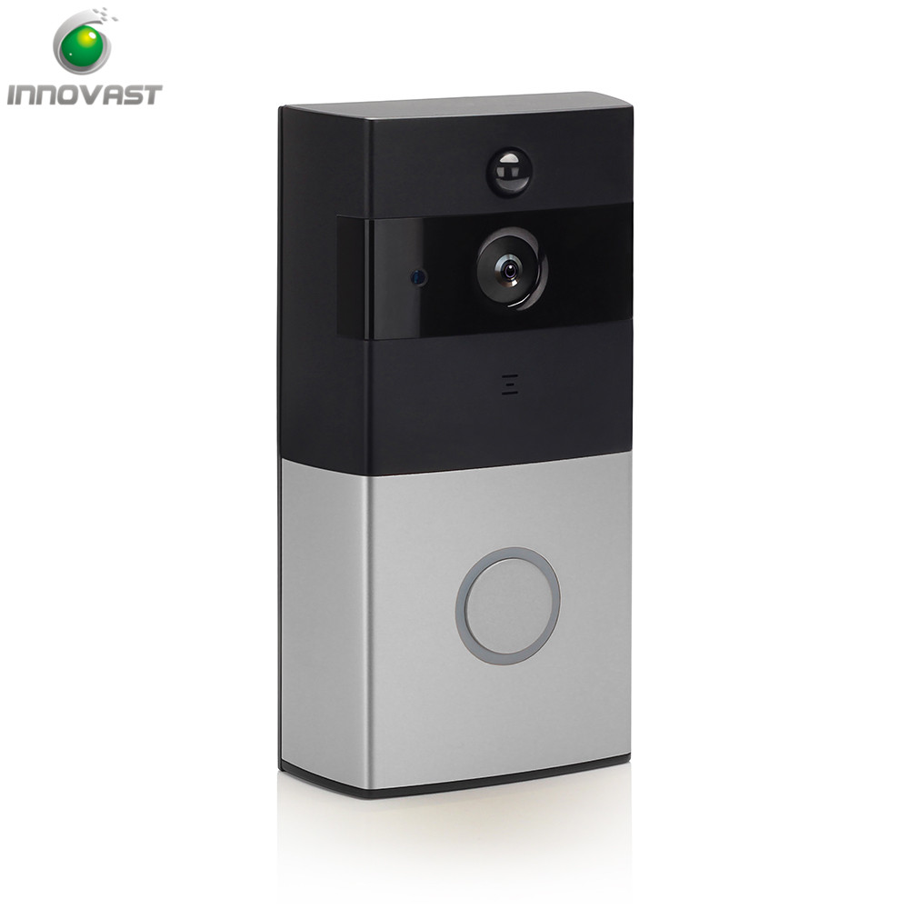 2018 Factory Supply Hot Sell Cordless Wireless Wifi Remote Viewing Mini Motion Detection HD Doorbell for Factory