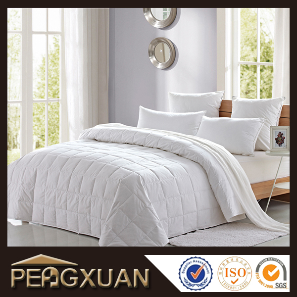 PENGXUAN wholsale bedding sets duvet white cotton and hollow filler light weight but warm comforter