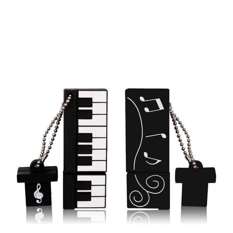 4 8 16 32 64GB USB Flash Drive Musical Instruments Guitar,Cello,Violin,Piano USB 2.0 Memory Stick Pen Drive Perfect Gifts