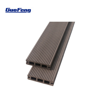 Wood Plastic Composite Hollow Outdoor Floor Wpc Patio Planks