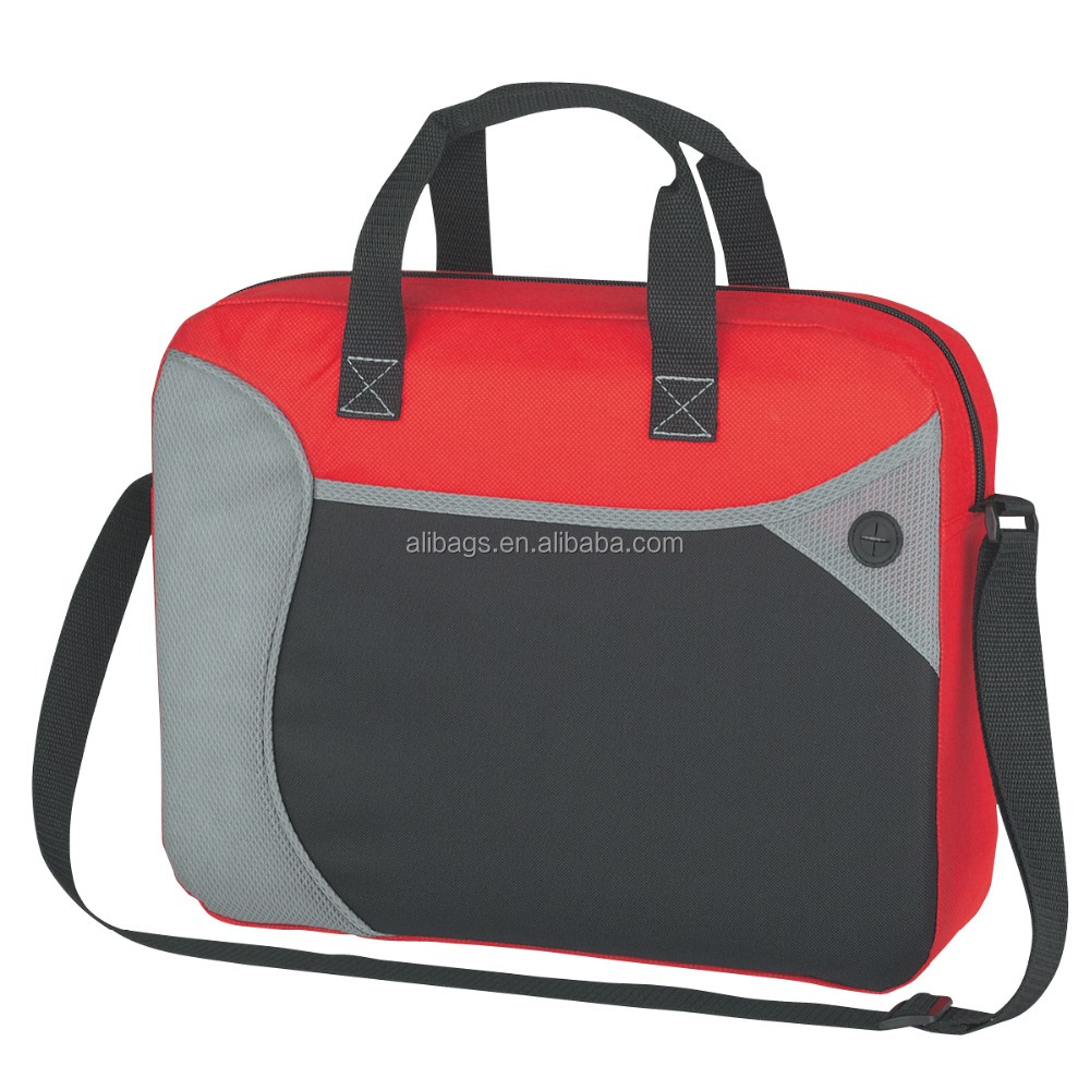 80g Nonwoven Wave Briefcase/Messenger Bag