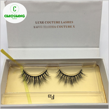 c3d575391b1 100% Siberian 3D Mink Fur False Lashes HandMade Wispy Natural Thick  Reusable Mink Fake Eyelashes