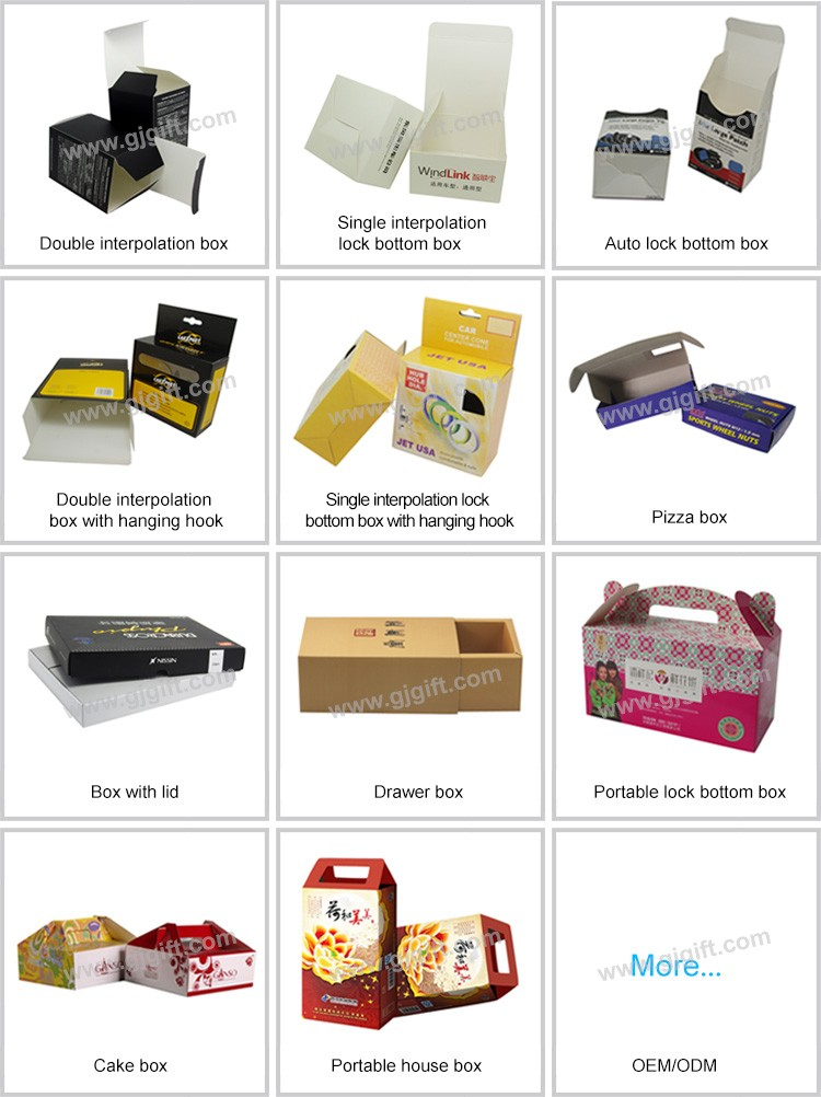Hottest china manufacture box packaging with custom logo