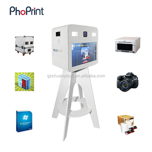 portable photo booth business of wedding and events of 2018 with printer camera all in one machine