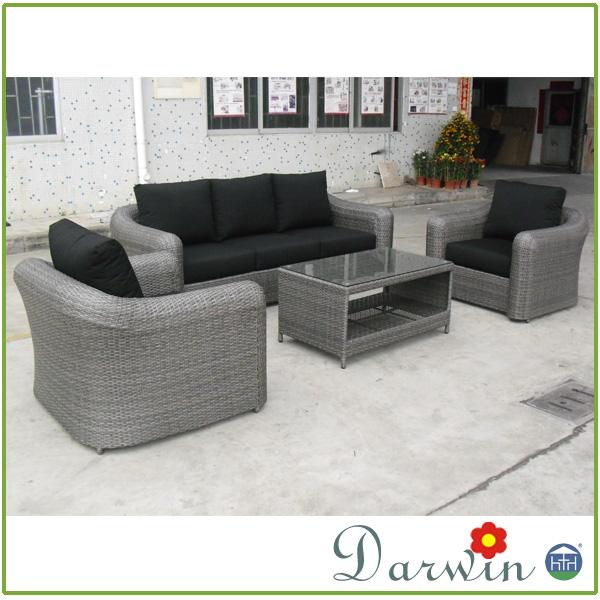 Dw Sf026 Wicker Waterproof Outdoor Rattan Garden Sofa Furniture Buy Rattan Furniture Garden