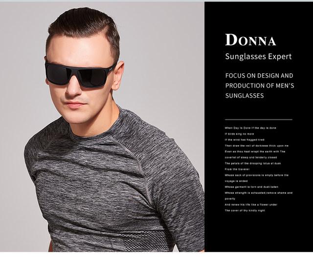 a02793c61f Online Shop DONNA Men Sports Sunglasses Polarized Goggles Rectangle ...