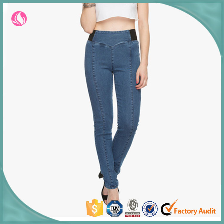 China Suppliers Ladies Jeans Top Design Jeans Pent, Jeans Leggings, Woman Clothes