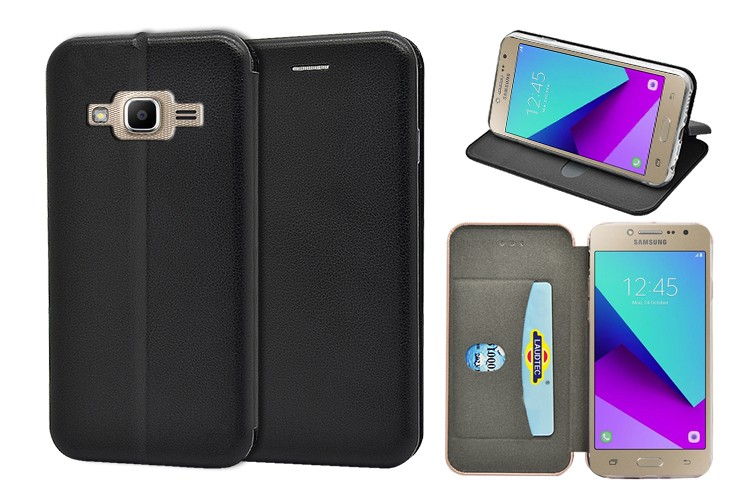 2016 leather mobile case wallet case cell phone case for Samsung galaxy J2 prime