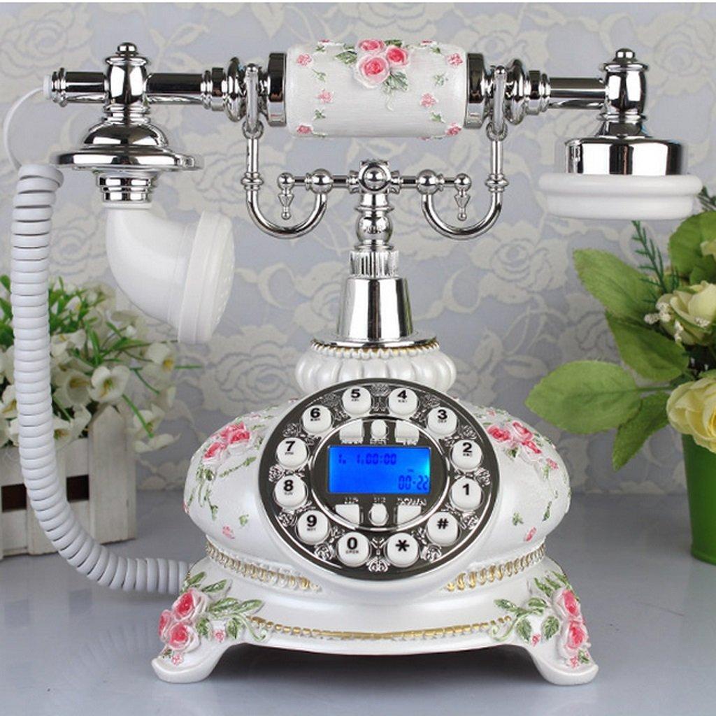 Edge To Corded Telephones European Style Retro Pastoral Fashion Creative Living Room Home Phone Plane Home living room phone